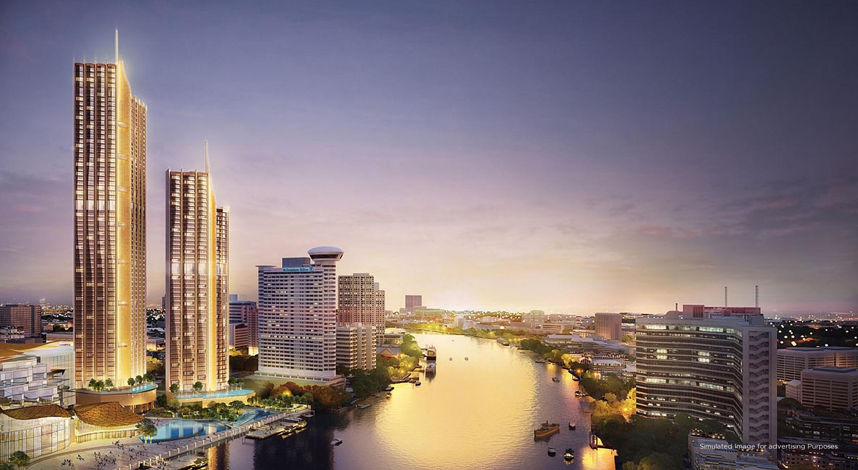 Magnolai Waterfront Residences (icon siam)