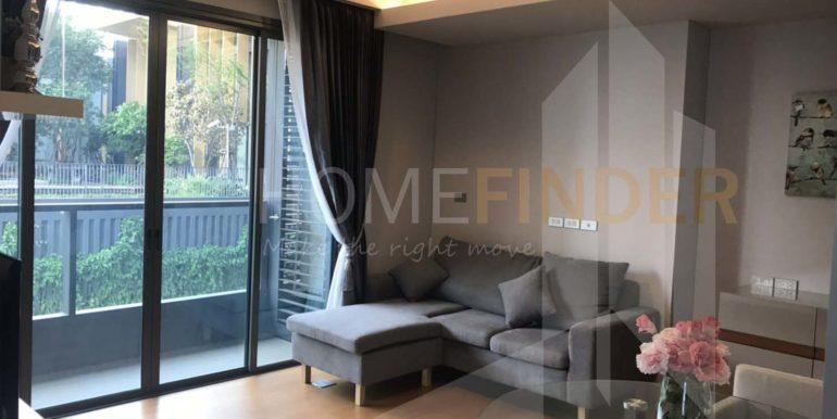 The Lumpini 24 - Sukhumvit - Living Room 2